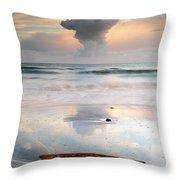 Talisker Bay Sunset Throw Pillow