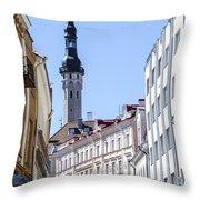 Tallin Estonia Throw Pillow