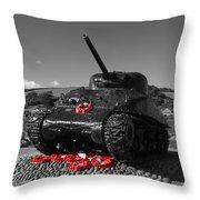 Tank Memorial Throw Pillow