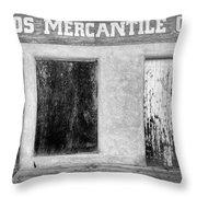Taos Mercantile Throw Pillow