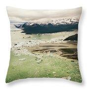 Tatshenshini River Throw Pillow