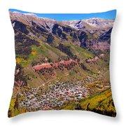 Telluride Throw Pillow