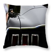 Terra Nova Hs Car Show Throw Pillow