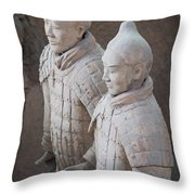 Terracotta Warriors, China Throw Pillow