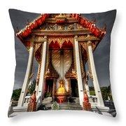 Thai Temple Throw Pillow
