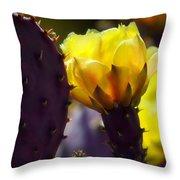 That Golden Glow  Throw Pillow