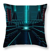 The Alter Throw Pillow