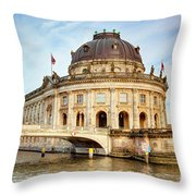 The Bode Museum Berlin Germany Throw Pillow