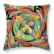 The Braid Throw Pillow by Deborah Benoit