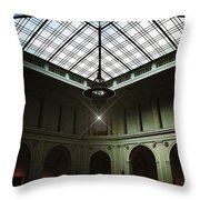 The Brooklyn Museum's Beaux-arts Court Throw Pillow