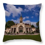 The Castle Of Schwerin Throw Pillow