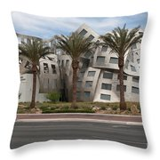 The Cleveland Clinic Lou Ruvo Center For Brain Health By Archite Throw Pillow