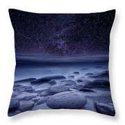 The Cosmos Throw Pillow by Jorge Maia