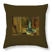 The Eve Of St Agnes Throw Pillow