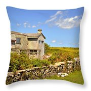 Island Farm  Throw Pillow
