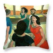 The Fiddler Throw Pillow