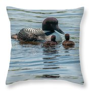 The First Lesson Throw Pillow