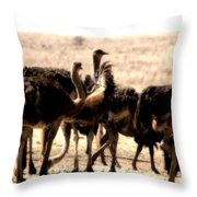 The Gathering Place Throw Pillow