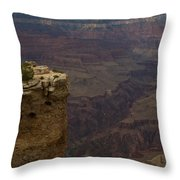 The Grandest Of Canyons Throw Pillow