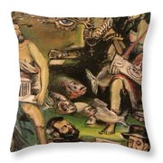 The Great Deluge Throw Pillow