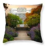The Greenhouse Throw Pillow