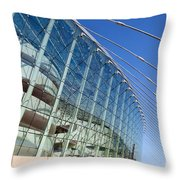 The Kauffman Center For The Performing Arts Throw Pillow