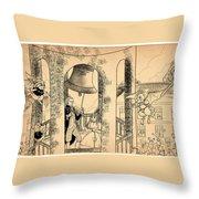The Liberty Bell Throw Pillow