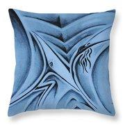 The Lift Throw Pillow by Matthew Blum