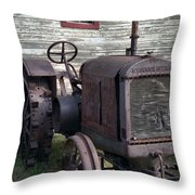 The Old Mule  Throw Pillow