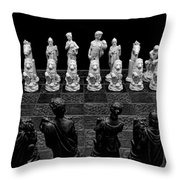 The Opponents View Throw Pillow