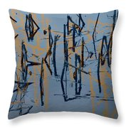 The Path Of A Whispered Secret Throw Pillow
