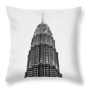 The Petronas Towers Throw Pillow