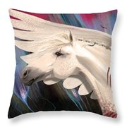 The Price Of Beauty Throw Pillow
