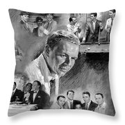 The Rat Pack  Throw Pillow