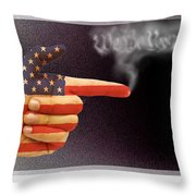 The Right To Bear Arms-3 Throw Pillow