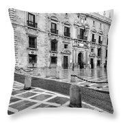The Royal Chancery Of Granada Throw Pillow