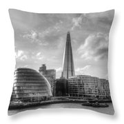 The Shard And City Hall Throw Pillow