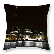 The South Bank London Throw Pillow
