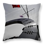The Sundial Throw Pillow