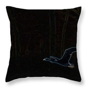 The Swan Of Tuonela Throw Pillow