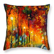 The Symphony Of Light Throw Pillow