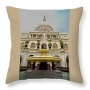 The United States Capitol Throw Pillow