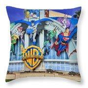 Warner Bros. Entertainment Inc. Throw Pillow