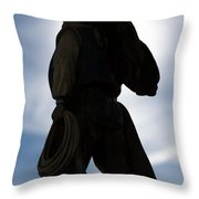 The Wild Breed Throw Pillow