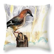 The Winter Tales Throw Pillow