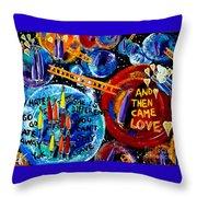 Then Came Love Throw Pillow