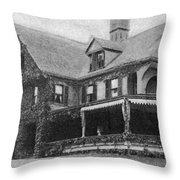 Theodore Roosevelt (1858-1919) Throw Pillow