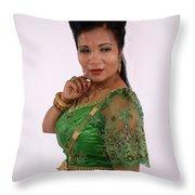 Thongsok Sovan Throw Pillow