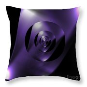 Through The Looking Glass Throw Pillow by Luther Fine Art