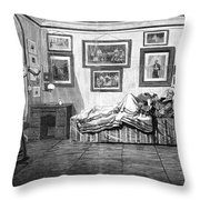 Thurlow Weed (1797-1882) Throw Pillow